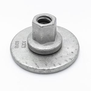Écrou type Hussor base flottante plate